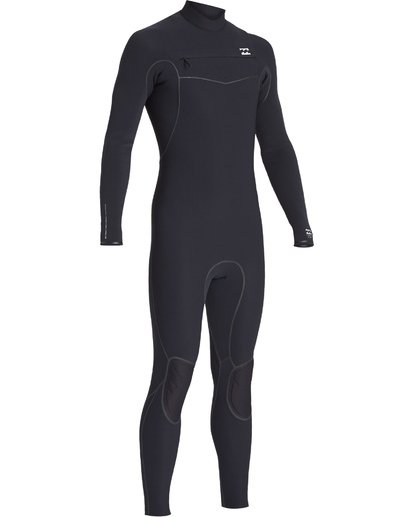 1 4/3 Furnace Ultra Chest Zip Fullsuit Black MWFUVBU4 Billabong