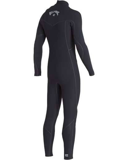 2 4/3 Furnace Ultra Chest Zip Fullsuit Black MWFUVBU4 Billabong