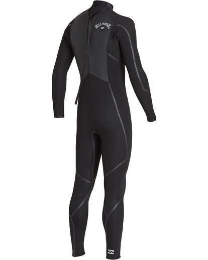 3 3/2 Absolute X Back Zip Fullsuit Black MWFUVBX3 Billabong