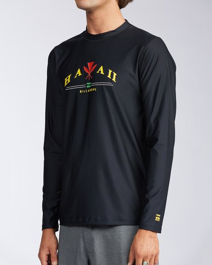 1 Ancestry Hawaii Long Sleeve Rashguard  MWLYAALH Billabong