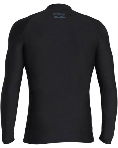 1 All Day Wave Long Sleeve Wetshirt Black MWLYJICL Billabong