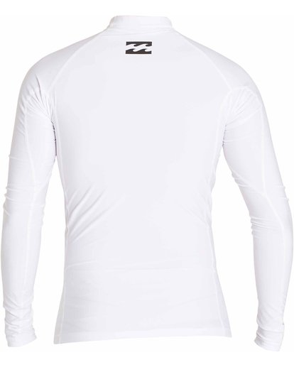 1 All Day Wave Long Sleeve Wetshirt White MWLYJICL Billabong