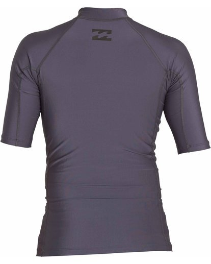 1 All Day Wave Short Sleeve Wetshirt Brown MWLYJICS Billabong