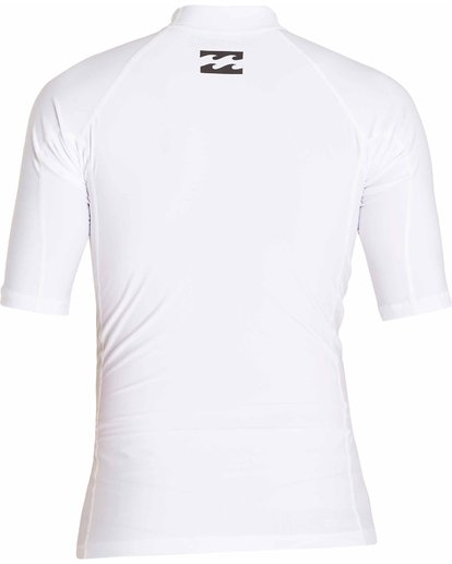 1 All Day Wave Short Sleeve Wetshirt White MWLYJICS Billabong