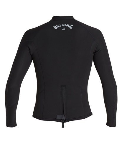 2 2/2 Absolute Comp Long Sleeve Jacket Black MWSH1BAL Billabong