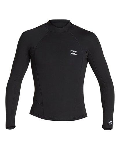 1 2/2 Absolute Comp Long Sleeve Jacket Black MWSH1BAL Billabong