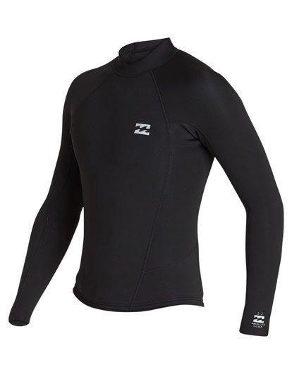 0 2/2 Absolute Comp Long Sleeve Jacket Black MWSH1BAL Billabong
