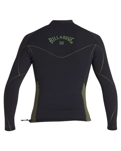 4 1mm Revolution Pro Long Sleeve Jacket Green MWSH1BP1 Billabong
