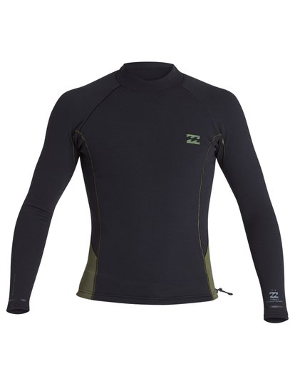 1 1mm Revolution Pro Long Sleeve Jacket Green MWSH1BP1 Billabong
