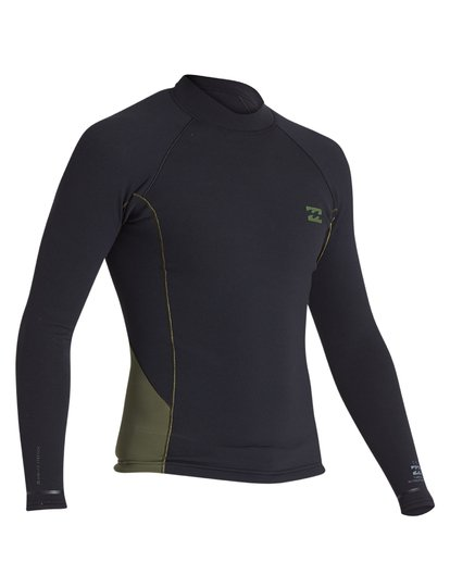 5 1mm Revolution Pro Long Sleeve Jacket Green MWSH1BP1 Billabong
