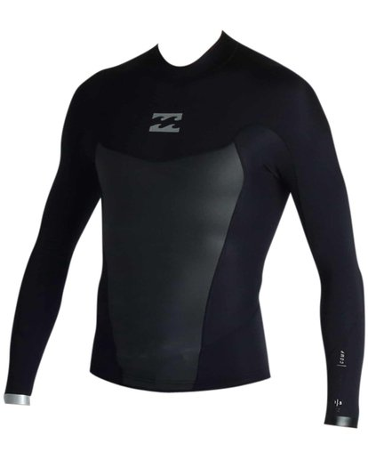 1 Absolute Light 1.5mm Long Sleeve Wetsuit Jacket  MWSHJALL Billabong