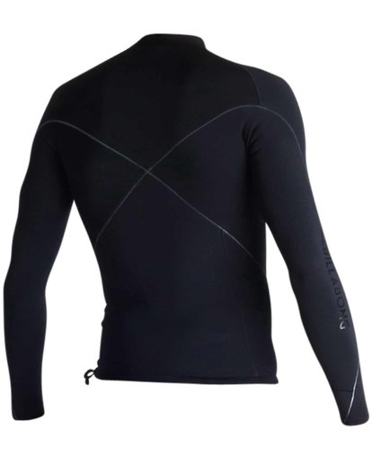 3 1mm Pro-Series Long Sleeve Wetsuit Jacket Black MWSHJPS1 Billabong