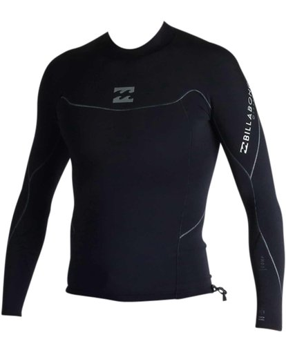 1 1mm Pro-Series Long Sleeve Wetsuit Jacket Black MWSHJPS1 Billabong