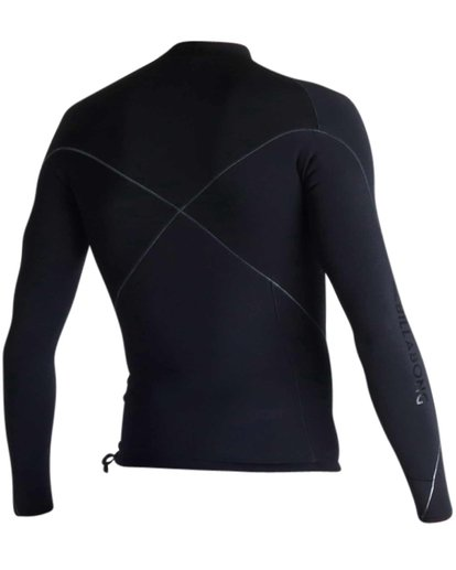2 1mm Pro-Series Long Sleeve Wetsuit Jacket Black MWSHJPS1 Billabong