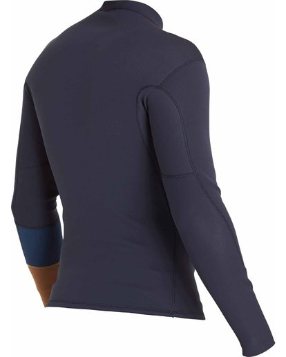 3 2/2 Revolution Tribong Long Sleeve Jacket Grey MWSHLRR2 Billabong