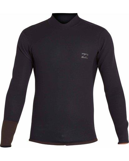 1 2mm Revolution DBah Reversible Wetsuit Jacket Brown MWSHNBD2 Billabong