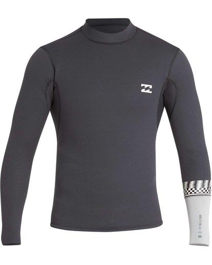 1 202 Revolution DBah Long Sleeve Jacket Grey MWSHQBD2 Billabong