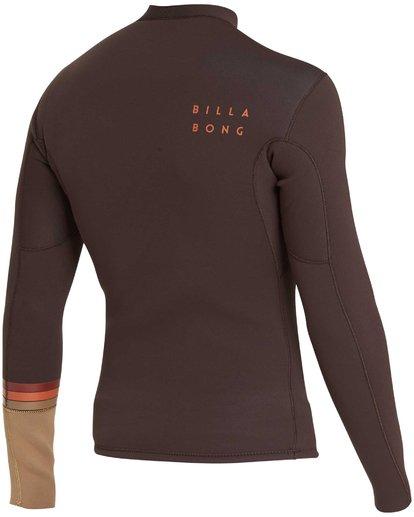 3 2/2 Revolution DBah Long Sleeve Jacket Brown MWSHQBD2 Billabong