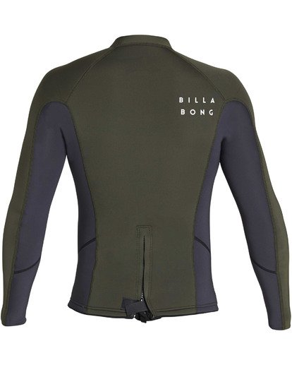 4 202 Absolute Comp Long Sleeve Jacket Black MWSHTBAL Billabong