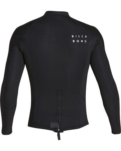 4 2mm Absolute Comp Long Sleeve Jacket Black MWSHTBAL Billabong