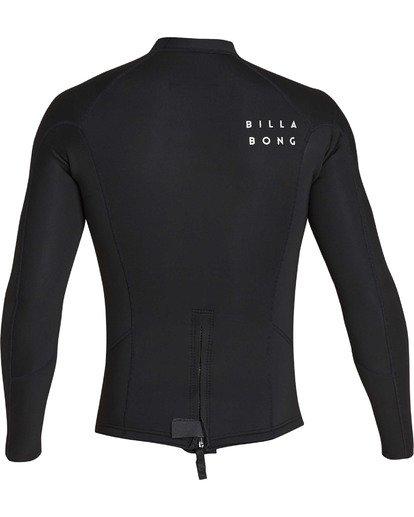 4 2mm Absolute Comp Long Sleeve Jacket Black MWSHTBAL Billabong