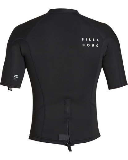 4 2mm Absolute Short Sleeve Jacket Black MWSHTBAS Billabong