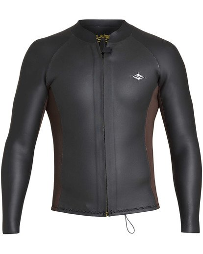 1 2mm Revolution Glide Jacket Black MWSHTBG2 Billabong