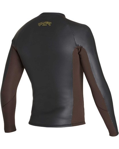 3 2mm Revolution Glide Jacket Black MWSHTBG2 Billabong