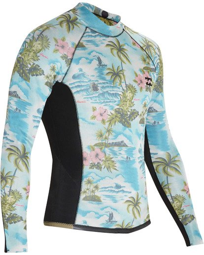 8 2mm Revolution Interchange Long Sleeve Jacket Black MWSHTBT2 Billabong
