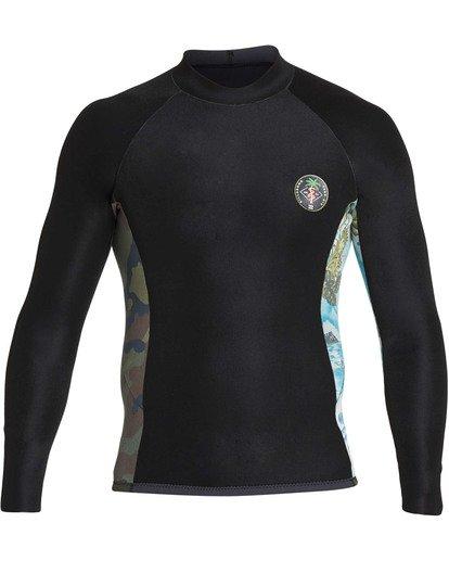 7 202 Revolution Interchange Long Sleeve Jacket Black MWSHTBT2 Billabong