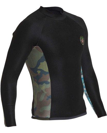 8 202 Revolution Interchange Long Sleeve Jacket Black MWSHTBT2 Billabong