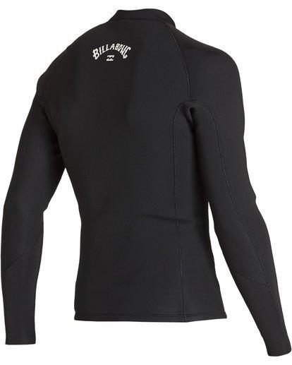 3 2mm Revolution Front Zip Jacket Black MWSHVBF2 Billabong