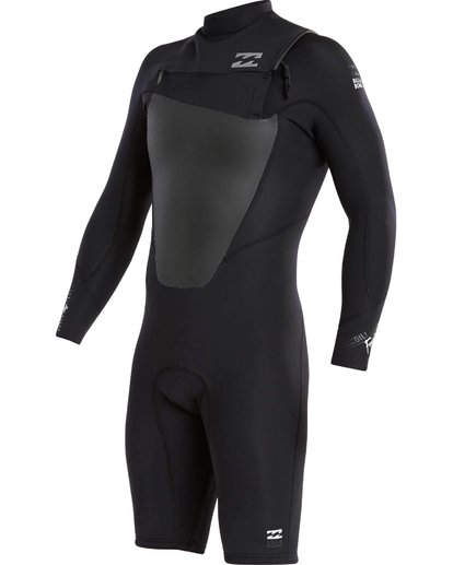 0 202 Absolute Comp Long Sleeve Chest Zip Springsuit  MWSPJFL2 Billabong