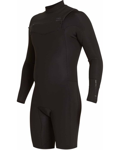1 2/2 Revolution Tribong Long Sleeve Springsuit Black MWSPLRL2 Billabong