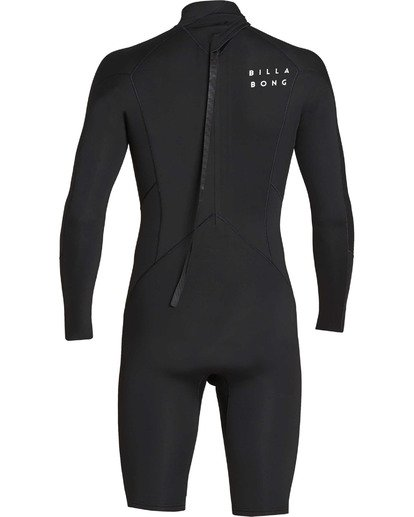 4 2mm Absolute Back Zip Long Sleeve Springsuit Black MWSPTBBL Billabong