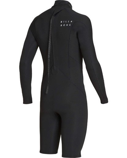 3 2mm Absolute Back Zip Long Sleeve Springsuit Black MWSPTBBL Billabong