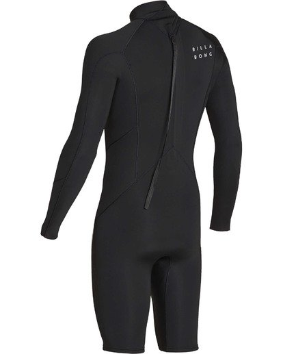 5 2mm Absolute Back Zip Long Sleeve Springsuit Black MWSPTBBL Billabong