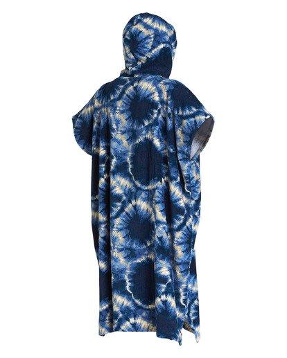 3 Hooded Poncho Blue MWTW1BHT Billabong