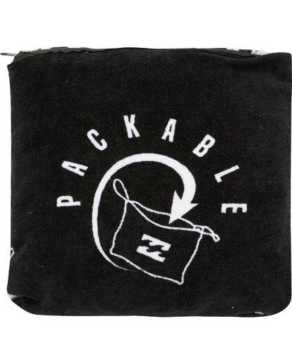 5 Hooded Poncho Black MWTWQBHT Billabong