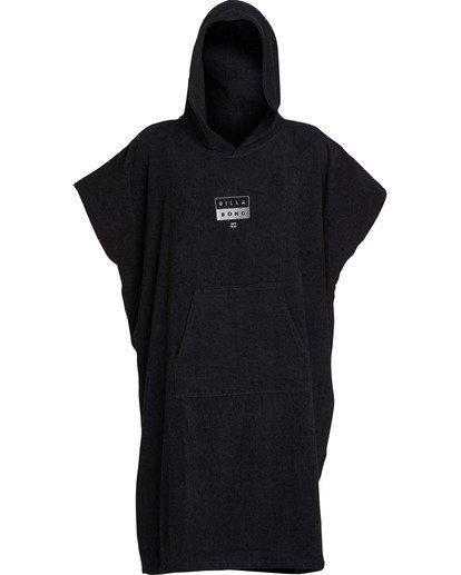 1 Mens Hoodie Towel Black MWTWTBHT Billabong