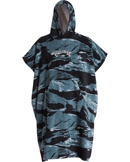 1 Hooded Towel Poncho Black MWTWVBHT Billabong