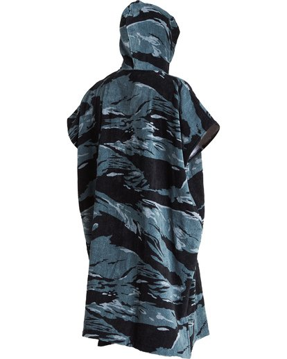 3 Hooded Towel Poncho Black MWTWVBHT Billabong