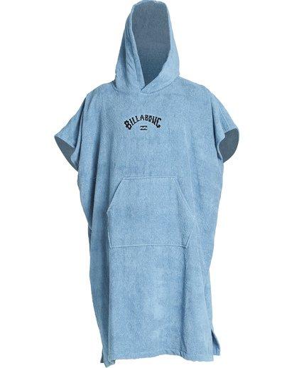 1 Hooded Towel Poncho Blue MWTWVBHT Billabong