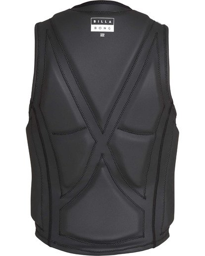 2 Anarchy Wake Vest Black MWVETBAN Billabong