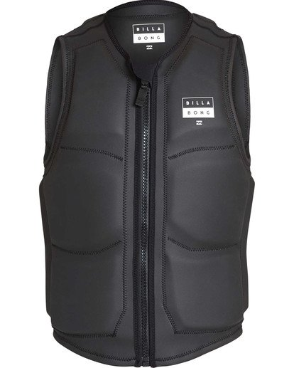 1 Anarchy Wake Vest Black MWVETBAN Billabong