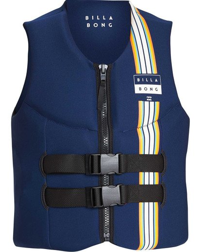 1 D Bah CGA Wake Vest Grey MWVETBCG Billabong