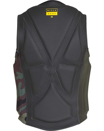 4 Interchange Wake Vest Green MWVETBIN Billabong