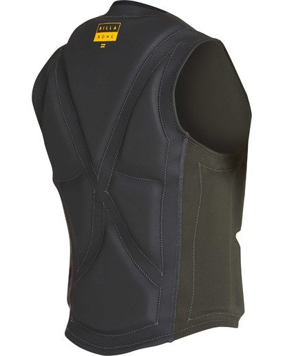 3 Interchange Wake Vest Green MWVETBIN Billabong
