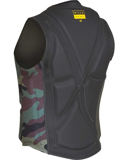5 Interchange Wake Vest Green MWVETBIN Billabong