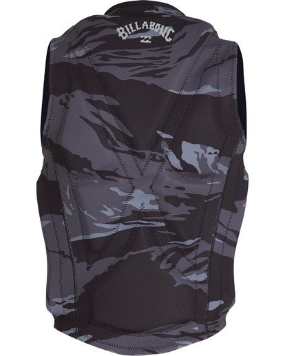 4 Revolution Wake Vest Black MWVEVBIN Billabong